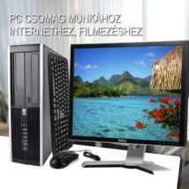 HP 8200 SFF PC + DELL 2007FP TFT monitor