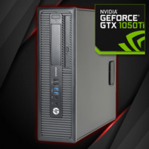 HP EliteDesk 800 G1 SFF - 1050Ti