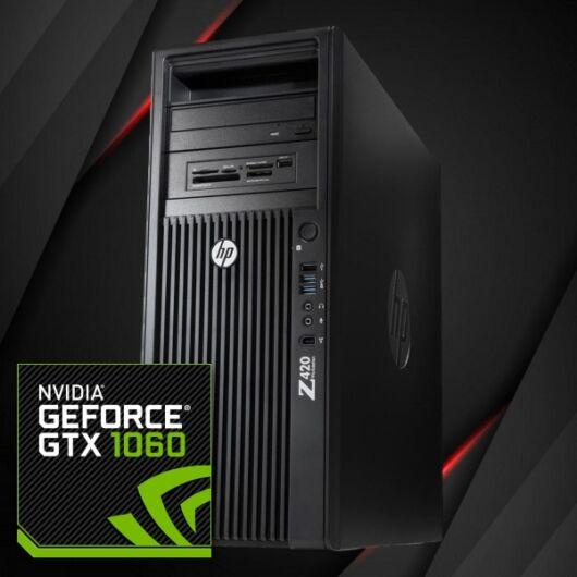 HP Z420 - GTX 1060